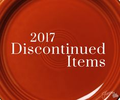 Discontinued Fiesta® Items 2017: Goodbye to Paprika, Square Bowl, Square Mug and Soap/Lotion Dispenser. Check it out at alwaysfestive.com | Fiesta Dinnerware, Always Festive