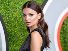 The Best Celebrity Long Hairstyles to Try Now - Emily Ratajkowski from InStyle.com