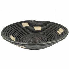 Uganda Bukedo Basket Black and White - Tango Zulu Imports