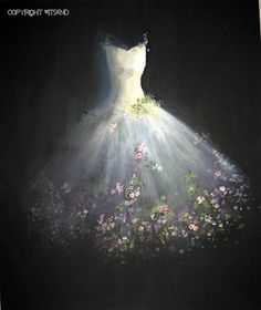 La danse de PRINTEMPS LA HAUSSE (THE DANCE OF SPRING RISING)    Out of the still darkness, blossom by blossom, Spring is born again.    DETAILS    this piece is a fully hand painted original by seller (© witsend) on a stretched gallery canvas and may be displayed without a frame or may easily be popped into a standard size, ready-made frame.    Your piece will arrive with all necessary hanging apparatus in place for your immediate enjoyment. As with all of my pieces, this piece is artist…