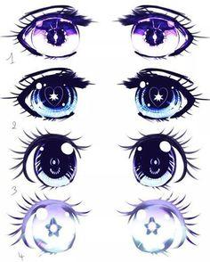 Anime eye styles.