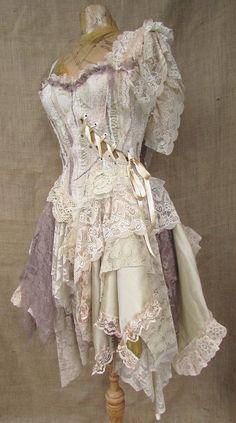 Dusky dress by NaturallyBohemian on Etsy