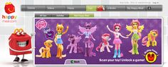 My Little Pony + Equestria Girls Happy Meal Toys Released | All About MLP Merch