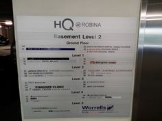 HQ Robina - Assisting users in navigating around the building