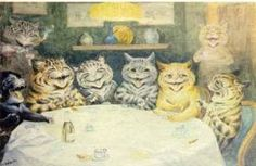 Louis Wain ~ The Mind of a Schizophrenic – Fractal Enlightenment