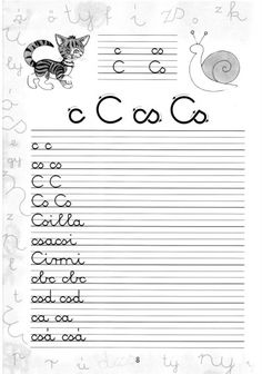 Írott betűk - kisferenc.qwqw.hu Alphabet Worksheets, Cursive, Grammar, Cool Kids, Coloring Pages, Literature, Preschool, Math Equations, Album