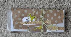 d'offrir des petits sachets de thé que cette Pocket Letter made by Christine B  !               produits Simply Graphic utilisés:          ...