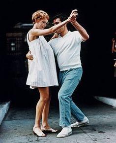 """Mia Farrow and John Cassavetes from the film """"Rosemarys baby"""""""