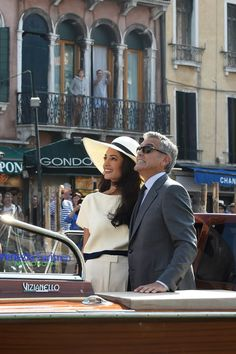 Wedding of George Clooney and Amal in Venice, Italy