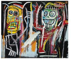 basquiat paintings   Pollack, Lichtenstein, Basquiat paintings set marks in record $495 ...