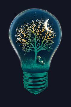 Goodnight Moon illustration by Dan Elijah G. Fajardo
