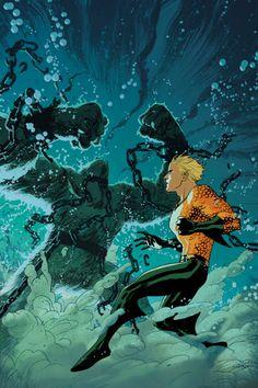 Aquaman #8 - Joshua Middleton