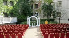 My ceremony is going to be here!