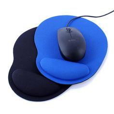 Nuovo Polso Proteggere Optical Trackball PC Addensare Mouse Pad Supporto Per Il Polso Comfort Mouse Pad Tappetino Mouse per Gioco 2 Colori