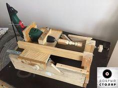 Один из вариантов размещения инструмента в мастерской.