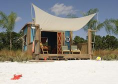 To low on the totem pole for one of these - someday!!!  Family cabana at Disney's Castaway Cay