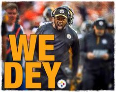 mike tomlin, coach of the pittsburgh steelers, tells the cincinnati bengals who it is that can beat them at their own stadium, from the unlikely orange