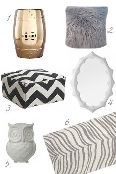 Lots of textures and love the introduction of gold for a mixed metal look
