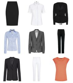 Not Dressed As Lamb - Over 40 Fashion Blog: What to Wear to the Office | 23 Office Chic Work Outfits from 9 Separates