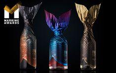 2019 Gallery | Marking Awards 标志大赏 – 全球食品饮料包装设计大奖 Fruit Cereal, Fruit Ice, Seaweed Chips, Dairy Co, Cocoa Tea, Tea Snacks, Tea Brands, Creative Company, Blue Flames