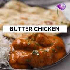 Making Restaurant Style Butter Chicken or Murgh Makhani has never been easier. This recipe is authentic and the flavours are mind blowing. Serve it with butter naan and rice! Chicken Starter Recipes, Spicy Chicken Recipes, Veg Recipes, Curry Recipes, Indian Food Recipes, Cooking Recipes, Butter Chicken Recipe Video, Butter Naan Recipe, Indian Chicken Recipes