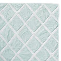 Aqua Diamond Quilt