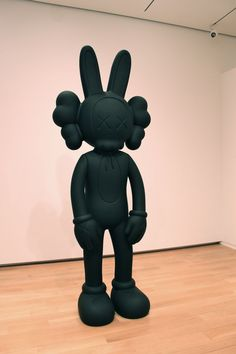 KAWS sculpture - my personal favorite part of the exhibit. It's massive and ominous in a cool way.