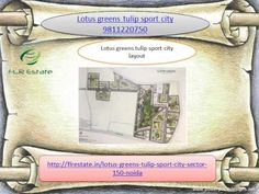 lotus greens tulip sport city 9811220750 sector 150 noida