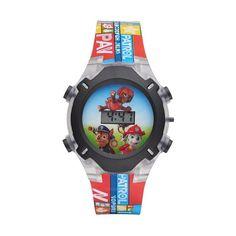 Paw Patrol Kids' Digital Light-Up Watch, Multicolor