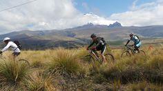 #VueltaalCotopaxi, biking in Ecuador