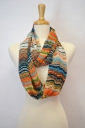 Gorgeous mix of oranges, greens and blues. $24.99 Use code PINIT at checkout for 10% off your entire order.