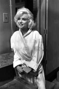 "Marilyn Monroe 1962 on the set of ""Something's Got to Give"""