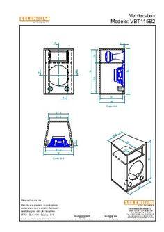 Vbt115 b2 Speaker Plans, Speaker Box Design, B & B, 1, Floor Plans, Diagram, How To Plan, Projects, Pasta