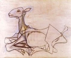 Picasso Goat