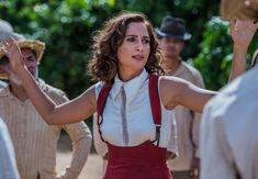 Maria Tereza (Camila Pitanga) roupa vermelha, segunda fase Velho Chico