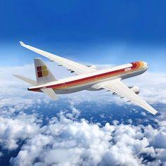 Espectacular Iberia Airbus A-330