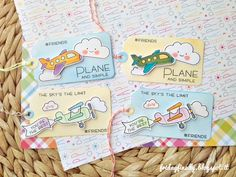 fridayfinally: Just.. Plane and simple tags feat. Lawn Fawn!