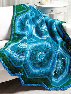 Blue Ribbon Crochet - Get 50+ exceptional crochet patterns specially designed to help crocheters build their stitching skills and create their own prizeworthy pieces. Projects include scarves, wraps, jewelry, bags, thread crochet doilies, table toppers, runners, bedspreads, baby blankets and sweaters, afghans, colorful rugs,and table accents. Available at www.maggiescrochet.com