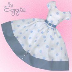 Dot News - Vintage Barbie Doll Dress Reproduction Repro Barbie Clothes
