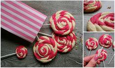 Miss Blueberrymuffin's kitchen: Lollipop-Cookies (pretty in PINK)