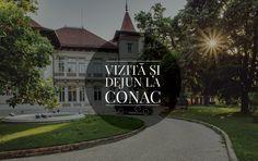 """Conacul de la Manasia, discret și rafinat, situat la mai puțin de o oră de București pe drumul vechi spre Marea Neagră, îți oferă oportunitatea de a lua parte la o experiență de neuitat, în fiecare duminică între orele 10.00 – 17.00. Un tur ghidat în conacul elegant, presărat cu descoperiri surprinzătoare ale arhitecturii și istoriei locului; O plimbare în parcul cu păuni, umbrit de platanii seculari; O gustare și o băutură răcoritoare, savurate pe terasa conacului. Tariful pentru """"Vizită... Romania, Sidewalk, Mansions, Country, House Styles, Travel, Home Decor, Low Key, Park"""