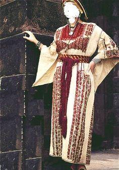 ثوب العروس في رام الله