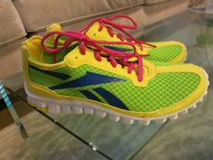 custom Reeboks! love the color #rbkfitblog @ElizabethEv #fitfluential