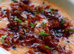 Denny Chef Blog: Crema di melone e prosciutto croccante