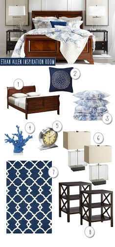 Copycat Decorating: Ethan Allen Inspired Bedroom. We love high style on a low budget. See what we found from Target, Overstock, Amazon and more.