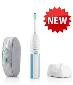 "BEST TOOTHBRUSH EVER!!!  (CLICK IMAGE TWICE FOR DETAILS AND PRICING) Sonicare HX5610_01 Essence Power Toothbrush. ""Sonicare Essence 5600 _ HX5610 Brand New Includes Two Year Warranty, The Sonicare Essence 5300 power toothbrush is based on innovative-patented sonic technology. This rechargeable power toothbrush cleans with ultra-high spee.. . See More Toothbrushes at http://www.ourgreatshop.com/Toothbrushes-C374.aspx"