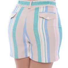 Smart Shorts, I Dress, Patterned Shorts, Different Styles, Plus Size, Sewing, Chic, Swimwear, Cotton