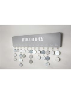 CALENDRIER ANNIVERSAIRE TAUPE