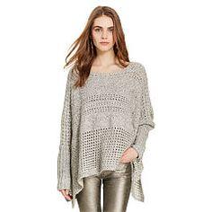 Pullover aus Baumwolle und Wolle - Polo Ralph Lauren Rundhals & U-Boot…