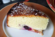 almond cake with plums, will be a great use of the almond paste